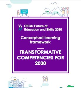 En bild av framsidan av OECDs rapport Transformative Competencies